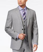 Tommy Hilfiger Grey Sharkskin Classic-Fit Jacket
