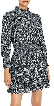 Rebecca Taylor La Vie Printed Mini Dress
