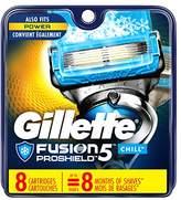 Gillette Fusion Men's Razor Blade Refills, 8 Count, Mens Razors / Blades