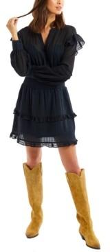 Allison New York Women's Eyelet Mini Dress