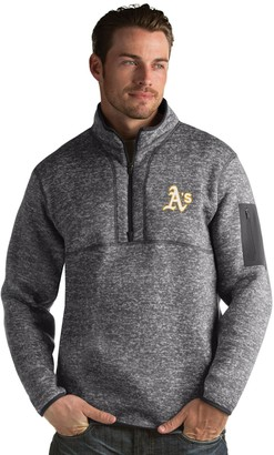 Antigua Men's Oakland Athletics Fortune Pullover