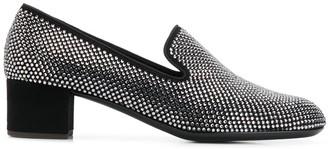 Giuseppe Zanotti Embellished Heeled Loafers