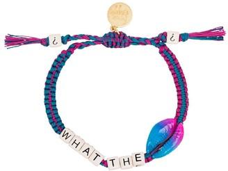 Venessa Arizaga What The Shell rope bracelet