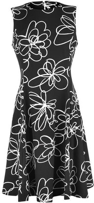 DKNY Occasion DKNY Floral Fit Flare Dress