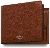 Mulberry 8 Card Coin Wallet Oak Natural Grain Leather