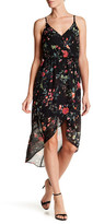 Amy Byer A. Byer Sleeveless Surplus Wrap Hi-Lo Maxi Dress