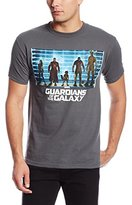 Marvel Guardians of the Galaxy Men's The Line Up-M T-Shirt