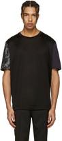 Lanvin Black Koi Sleeve T-Shirt