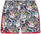 Little Marc Jacobs Printed swim shorts