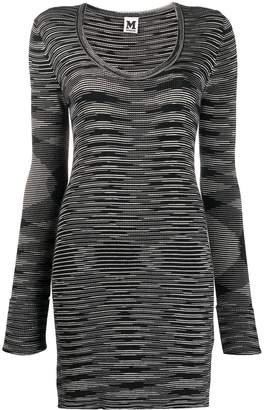 Missoni Pre-Owned blurry stripes knitted dress