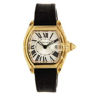 Cartier Roadster Silver Yellow gold Watches