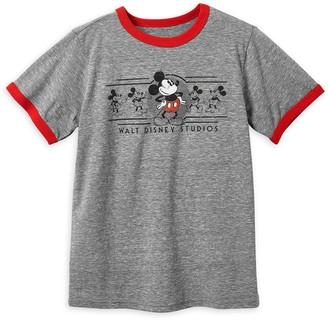Disney Mickey Mouse Walt Studios Ringer T-Shirt for Kids