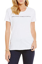 "Heritage Mercantile"" Logo Short Sleeve Tee"