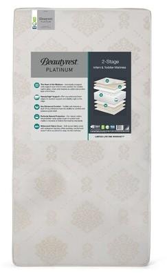 Simmons 2-Stage Waterproof Standard Crib Mattress