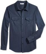 William Rast Men's Branson Herringbone Shirt