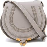 Chloé Mini Marcie bag - women - Cotton/Calf Leather/Leather - One Size