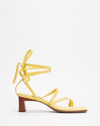 Senso Women's Yellow Heeled Sandals - Raegan - Size One Size, 37 at The Iconic