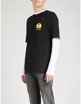 Stussy Sundown Cotton-jersey T-shirt