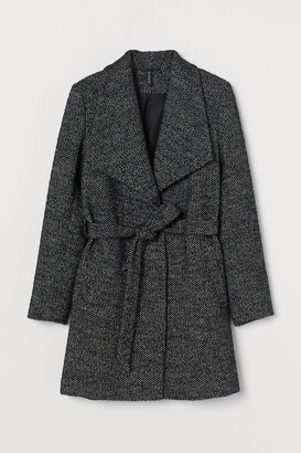 H&M Short wool-blend coat
