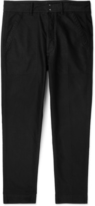 Tom Ford Slim-Fit Cotton-Satin Trousers