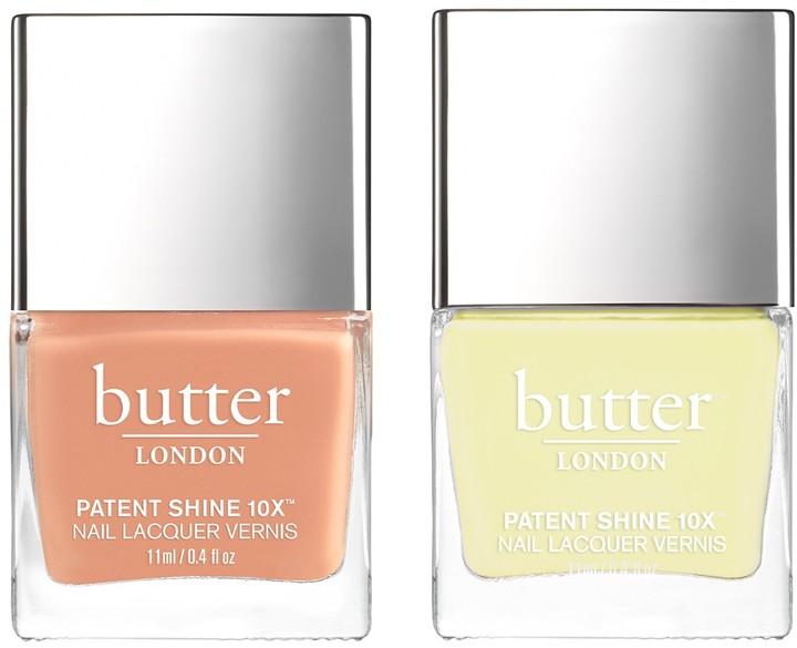 Butter London Patent Shine Sheen Nail Polish - Set of 2