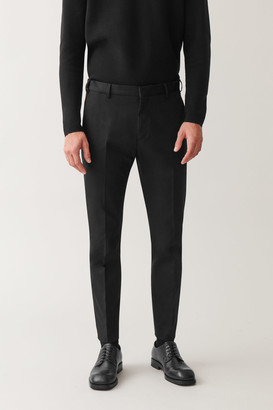 Cos Skinny Stretch-Cotton Pants
