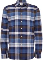 Ps By Paul Smith Long Sleeve Madras Check Shirt