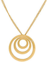 Roberto Coin 18K Diamond Concentric Circle Pendant Necklace
