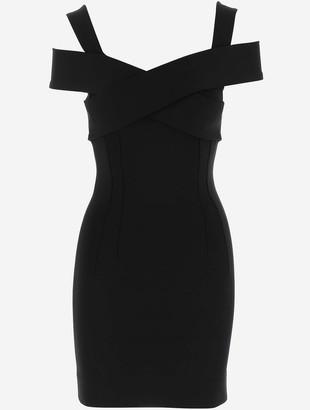 Dolce & Gabbana Sweetheart Black Viscose Women's Dress