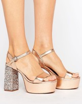 Asos HIERARCHY Embellished Platform Heels