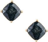 Lydell NYC Cushion-Cut CZ Speckle Stud Earrings, Black