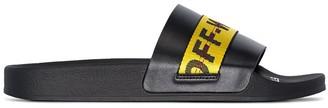 Off-White industrial stripe slides