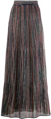 M Missoni lurex knitted skirt