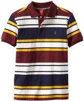 Izod Kids Big Boys' Embroidered Stripe Polo