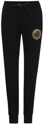 Versace Jeans Couture Round Logo Joggers Ladies