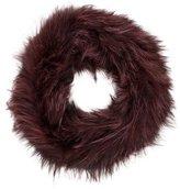 Michael Kors Fox Fur Infinity Scarf