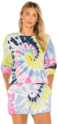 525 Tie Dye Basic Crew Sweatshirt