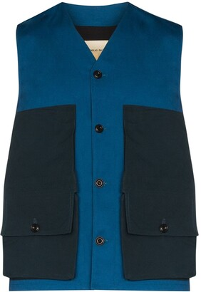 Nicholas Daley Flap Pocket Waistcoat
