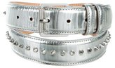 Barbara Bui Metallic Spiked Belt