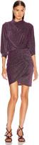 IRO Absalon Dress in Purple   FWRD