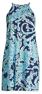 Lilly Pulitzer Women's Margot Floral Halter Dress