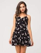 Full Tilt Strappy Floral Dress