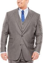 Jf J.Ferrar JF Sharkskin Suit Jacket - Big & Tall
