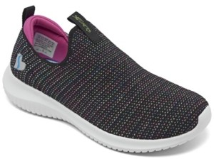 Skechers Big Girl's Stretch Flex - Standing Ovation Slip-on Sporty Casual Sneakers from Finish Line