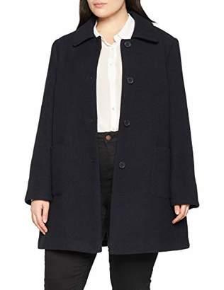 Ulla Popken Women's ausgestellter Kurzmantel Coat,UK 18