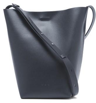 Aesther Ekme Sac Large Leather Cross-body Bag - Navy