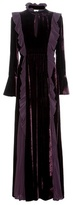 Fendi Velvet And Silk Gown