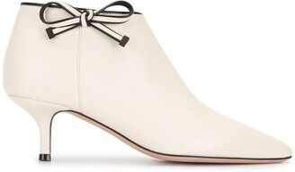 Bally Kitten Heel Ankle Boots