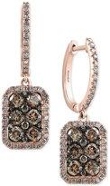 Effy Diamond Drop Earrings (1-3/4 ct. t.w.) in 14k Rose Gold