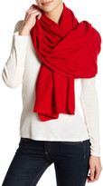 Portolano Red Cashmere Knit Shawl